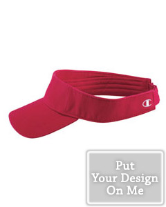 Personalized twill athletic visor